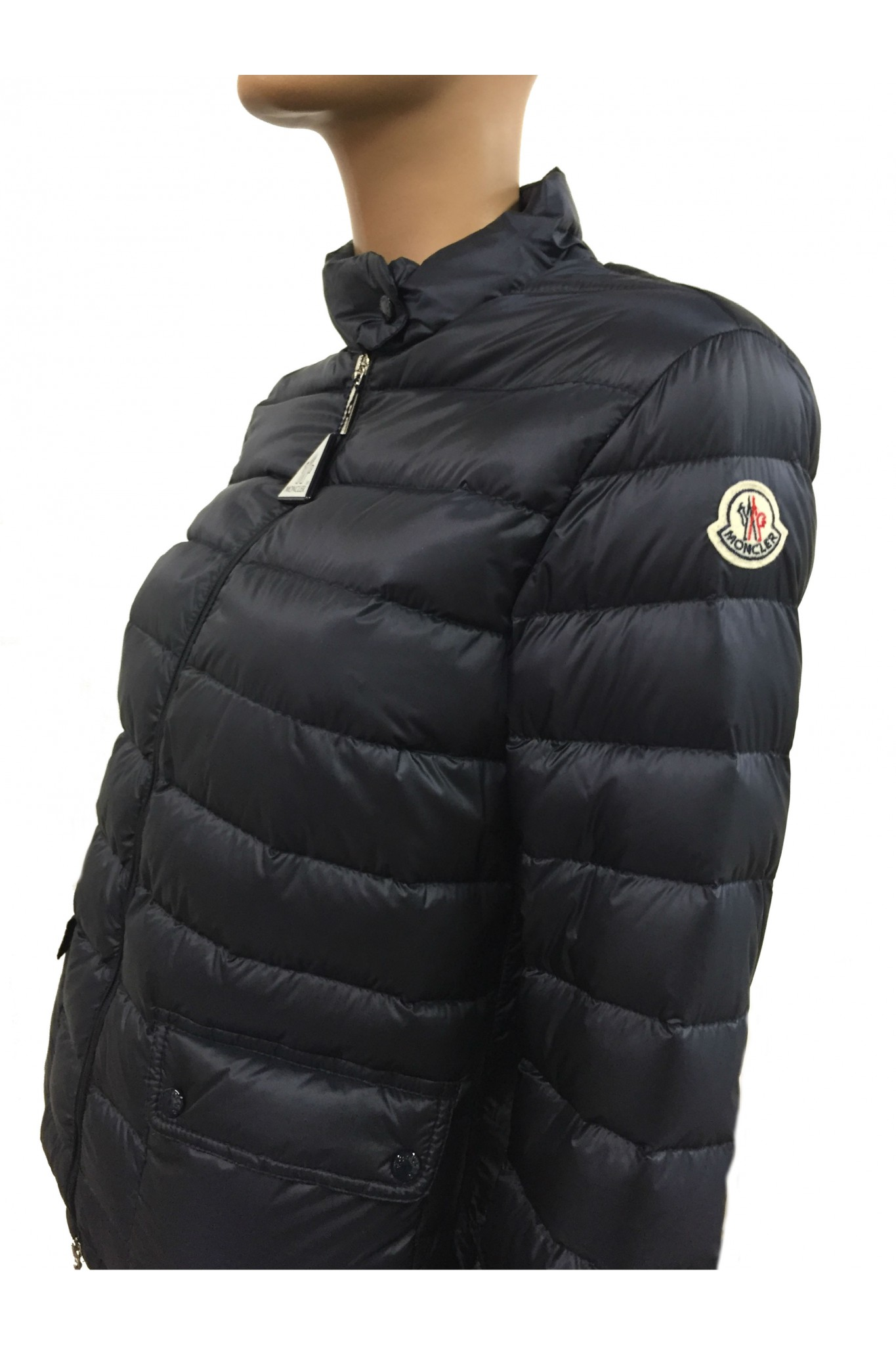 Blue Moncler Lans down jacket. Previous. Next