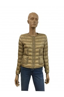 "Camel colored Moncler ""Lissy"" down jacket"