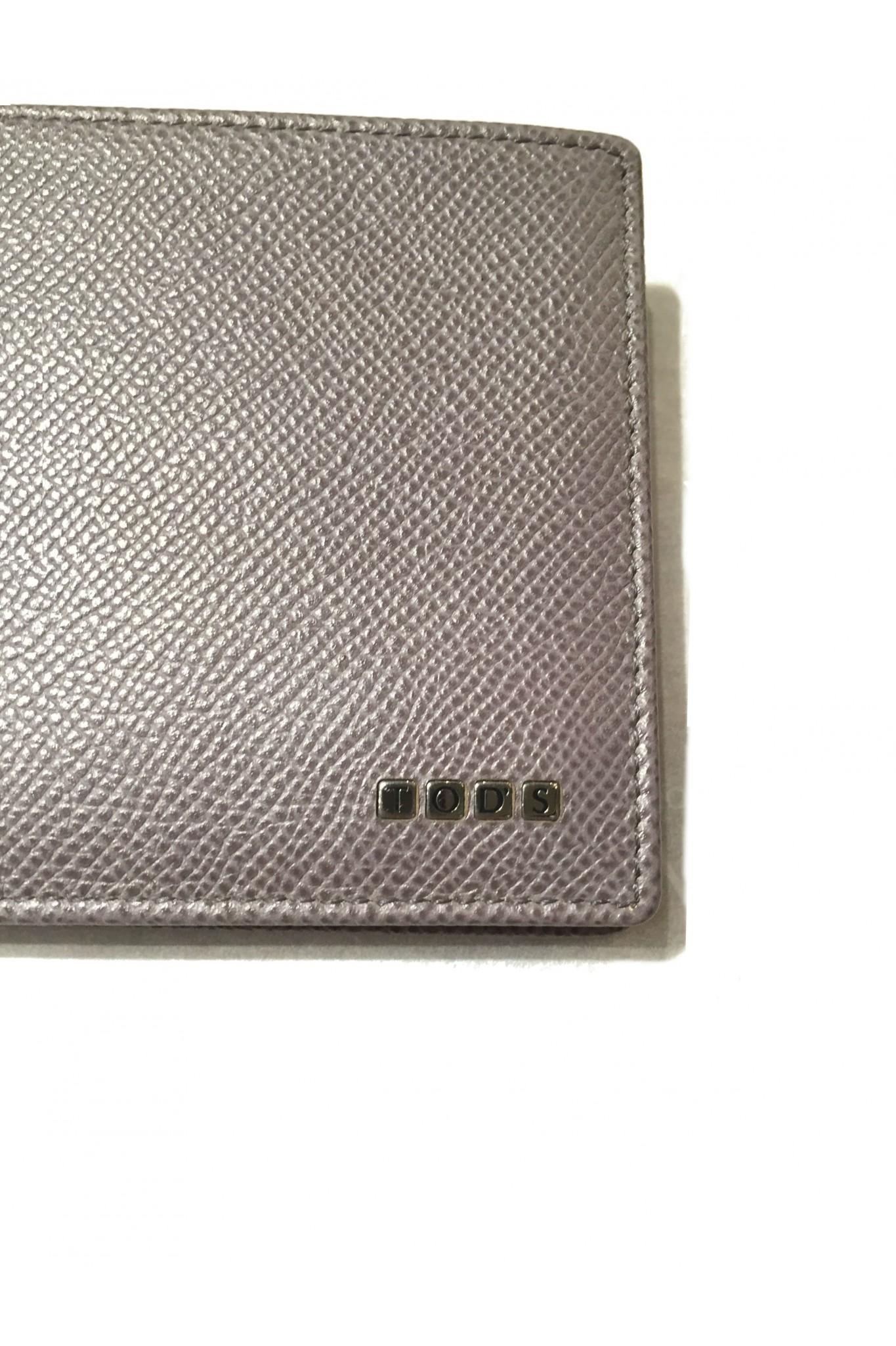 ff98d135ec Vendita portafoglio da uomo Tod's grigio online