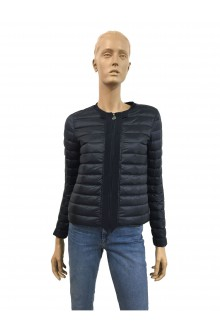 Blue Moncler Bonite down jacket