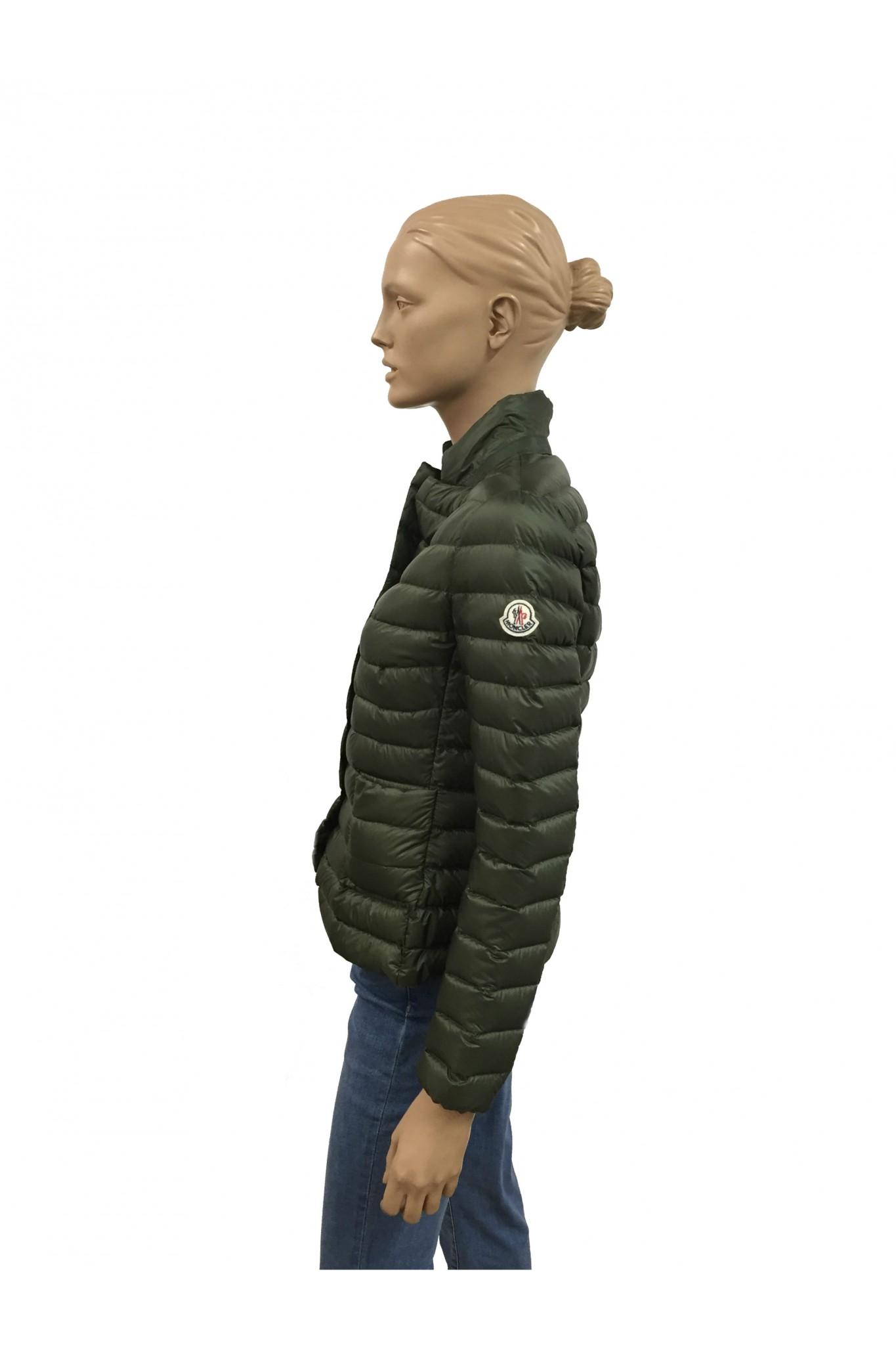 ... green moncler jacket ...