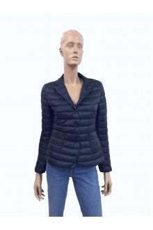 Blue Moncler Leyla down jacket