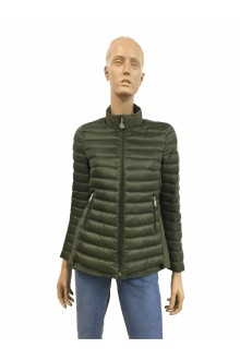 Military green Moncler Grenouille down jacket