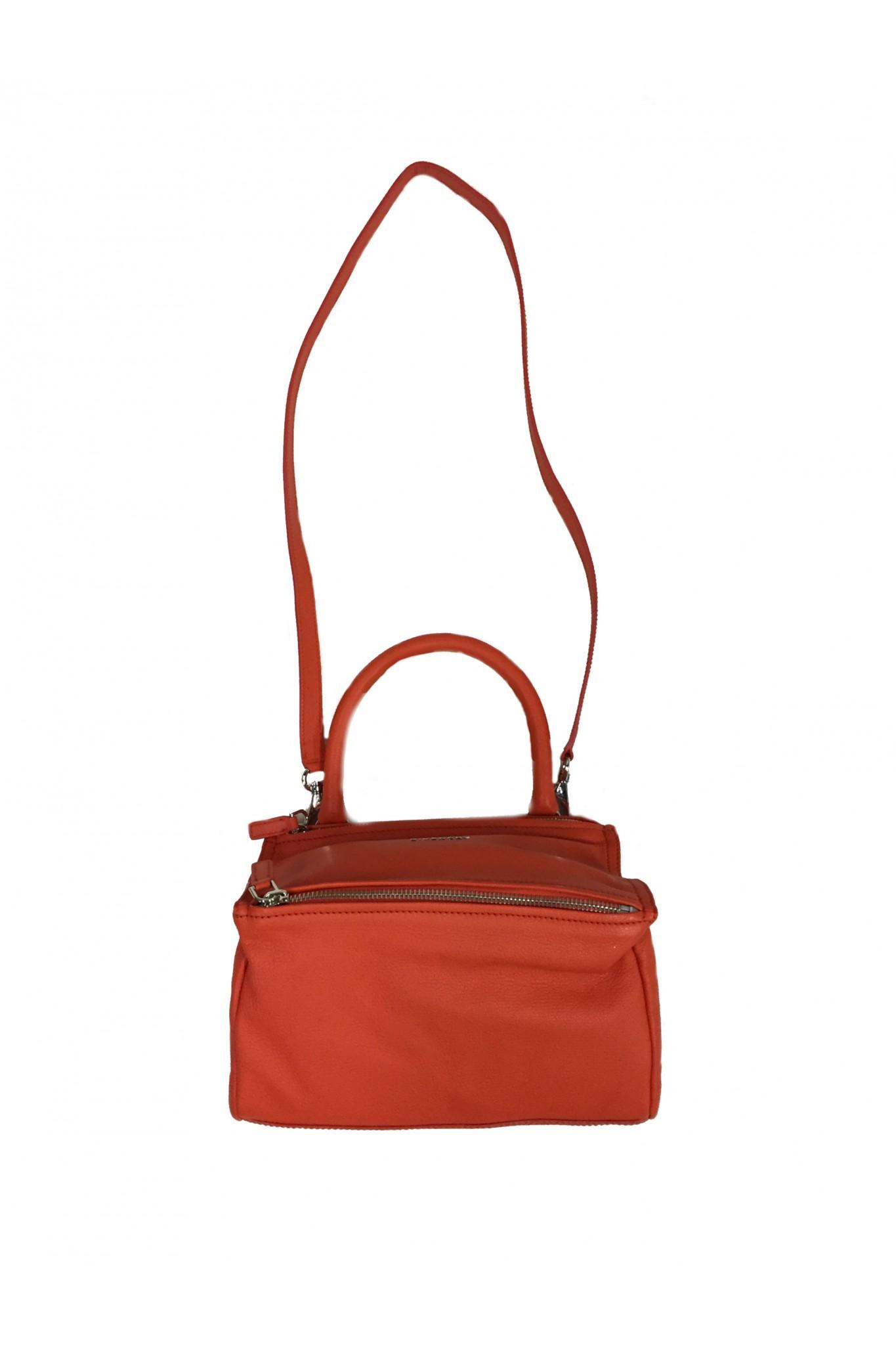 Orange Givenchy Quot Pandora Quot Small Bag Online Sale