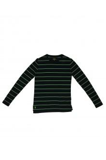 T-shirt Ralph Lauren a righe con manica lunga