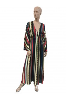 Dondup multicolored long dress