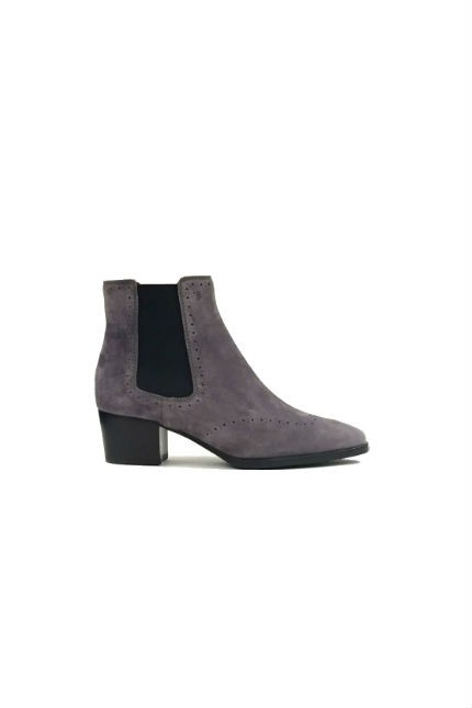 Tod's grey ankle boots