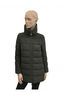 Down Jacket military green Petrea Moncler