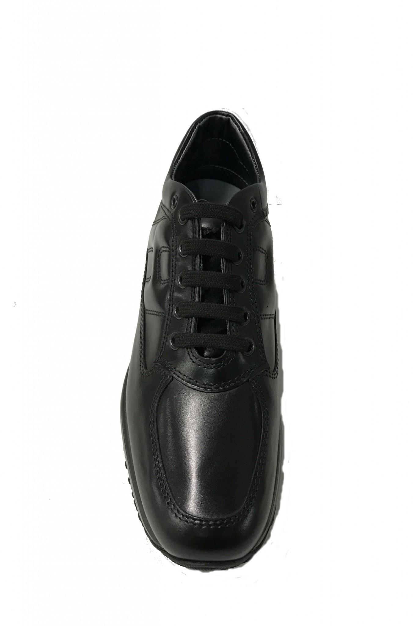 scarpe hogan interactive pelle nera