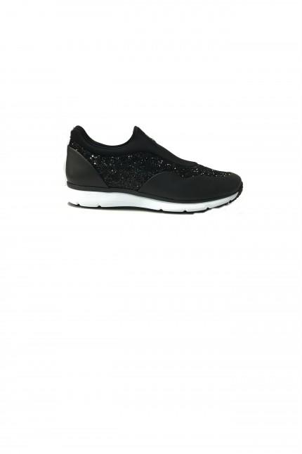 Scarpe Hogan traditional pantofola nera