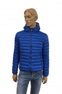 Light blue hooded Colmar Down Jacket