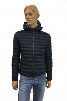 Blue hooded Colmar Down Jacket