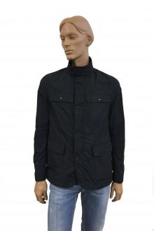 Blue Moncler Santiago nylon jacket