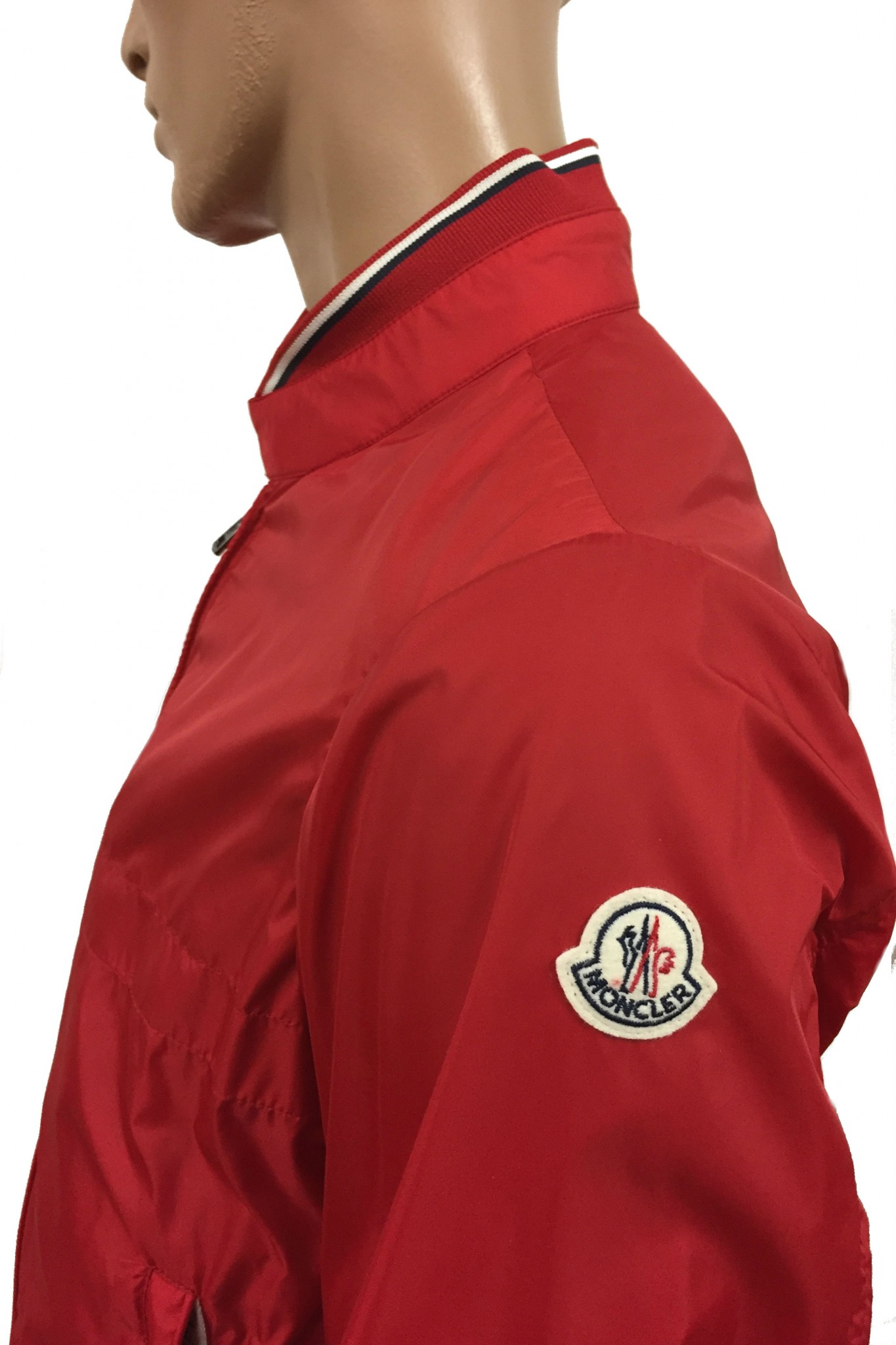 Red Moncler Albert nylon jacket. Previous. Next
