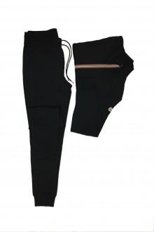 Black sweat suit Moncler