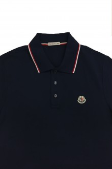 Moncler bluette polo shirt