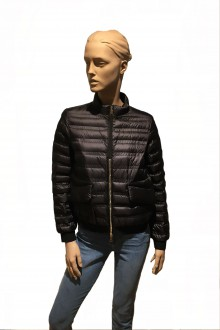 Black Moncler Violette down jacket