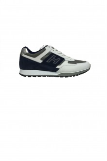 Scarpa Hogan H321 Bianco/blu/grigio