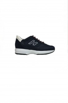 Scarpa Hogan New Interactive pelle blu