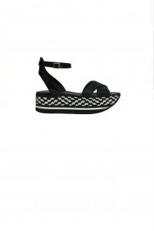 Hogan black sandal H222