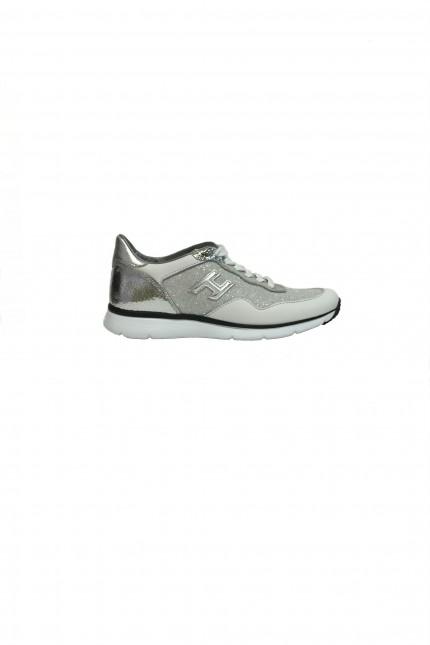 Scarpa Hogan Traditional H254 bianco e argento