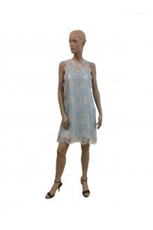 Lace's dress Carven