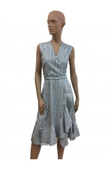 Carven dress with stripes
