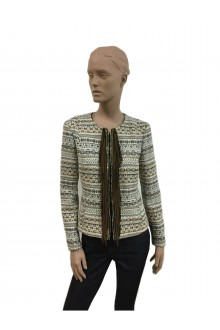 Bazar Deluxe jacket with suede fringes