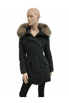 Moncler black down jacket Monticole