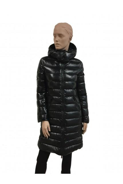 Moncler black down coat Moka