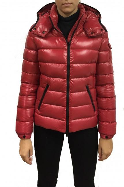 25a47e6ce Shop online Moncler red down jacket Bady