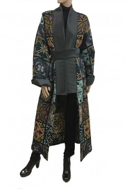 Kimono Black Coral