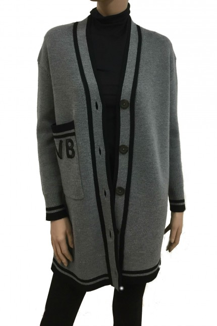 Cardigan Victoria Beckham in lana
