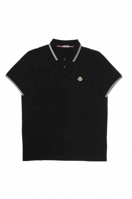 Polo Moncler nera