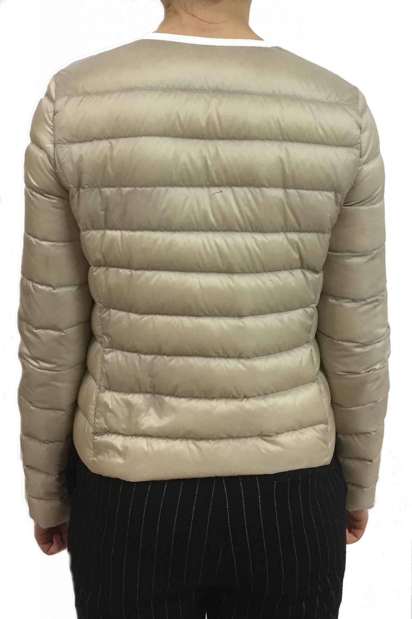 Moncler Cristal Light beige down jacket. Previous. Next