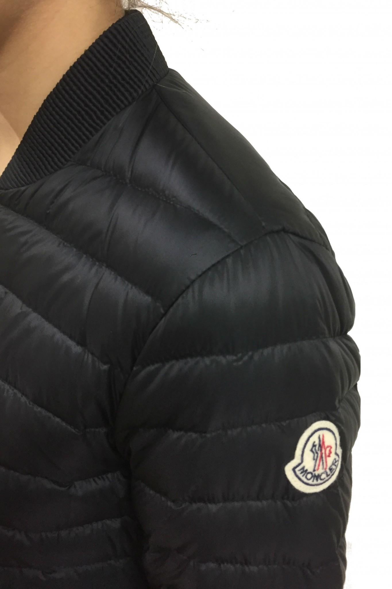 b11001af7 Barytine black Moncler down jacket online sale
