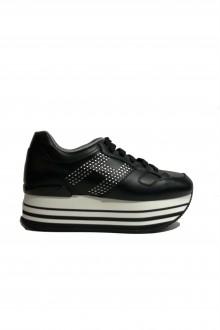 Hogan shoes H283 maxi black