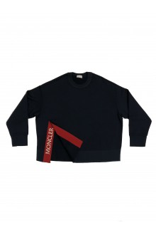 Moncler blue and red sweatshirt