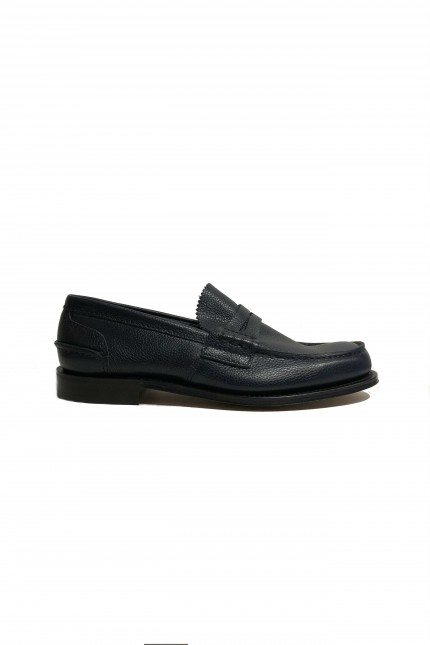 Church's Pembrey blue loafer