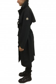 Black Moncler Roche Trench