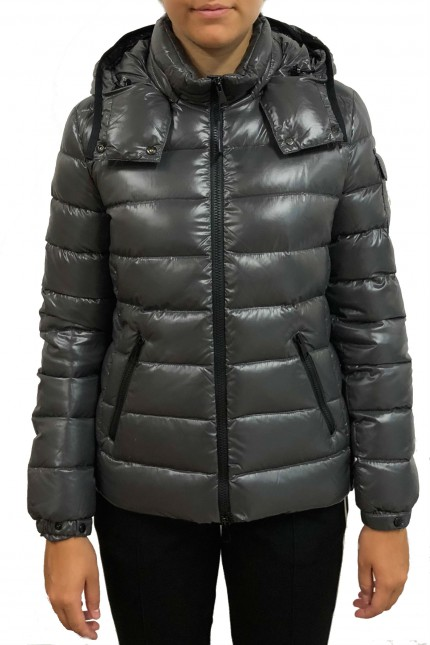 24b1a23862fd Shop online Moncler grey down jacket Bady