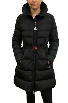 Accenteur Moncler black down jacket