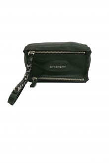 "Givenchy mini dark green""Pandora"" pouch"