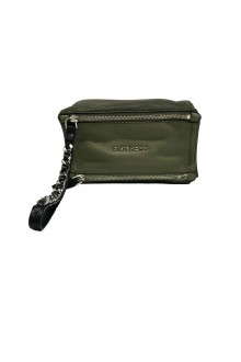 "Givenchy mini military green ""Pandora"" pouch bicolor"