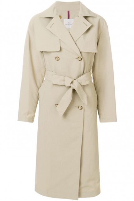 Trench Moncler Roche beige
