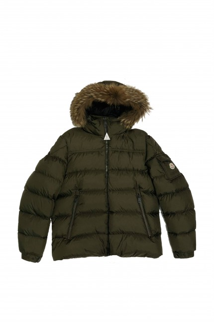 Shop online military green Marque down jacket Moncler 1ad2eac3c35