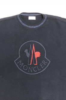 Moncler blue  sweater