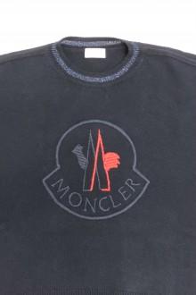 Maglioncino Moncler girocollo blu