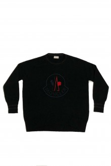 Moncler black  sweater
