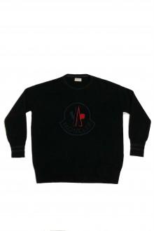 Maglia Moncler girocollo nero